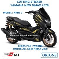 Cutting sticker yamaha nmax NMN2 stiker variasi skotlet nmax 2020