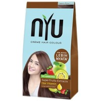NYU HAIR COLOR COPPERY BROWN / SEMIR RAMBUT NYU COPPERY BROWN
