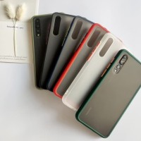 Vivo Y12-Y15-Y17 Soft Case Matte / Colored Prosted