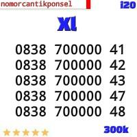 Perdana Nomor Cantik XL 0838 seri panca 00000 4x i03