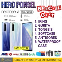 REALME 6 RAM 8/128 GB GARANSI RESMI REALME INDONESIA
