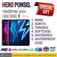 REALME 6 PRO RAM 8/128 GB GARANSI RESMI REALME INDONESIA