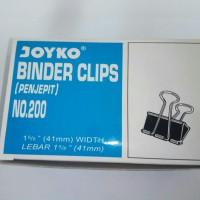 Binder Clips No. 200 (Joyko)