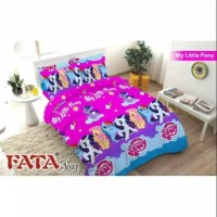 GROSIR BED COVER SET FATA ANAK MY LITTLE PONY UK.120
