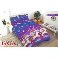 GROSIR BED COVER SET FATA ANAK UNICORN 120X200