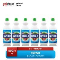 Paket Bayclin Fresh 500ml isi 6