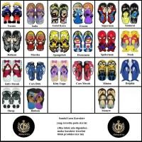 Size 40 Sandal Sancu Karakter / Sandal Lucu