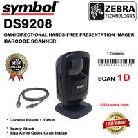 ZEBRA DS-9208 1D Barcode Scanner OMNI Motorola Symbol DS9208 1Dimensi