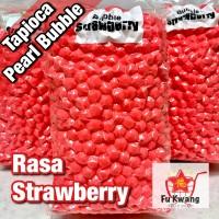 Bubble Tapioka Tapioca Pearl Bubble Mutiara Rasa Strawberry 1 kg