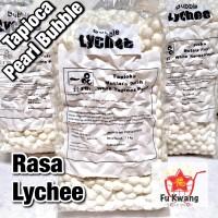 Bubble Tapioka Tapioca Pearl Bubble Mutiara Rasa Lychee Leci 1 kg