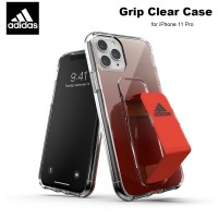 Case iPhone 11 Pro Adidas Sport Grip Clear Case - Solar Red