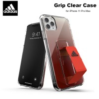 Case iPhone 11 Pro Max Adidas Sport Grip Clear Case - Solar Red