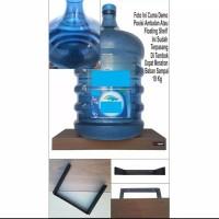 80x15x4cm Ambalan Rak Dinding Floating Shelf Kayu Datar Rak Buku DIY