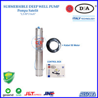 Pompa Satelit DEA 1.5 HP 3 Inc (Submersible Pump) - Stainless Steel