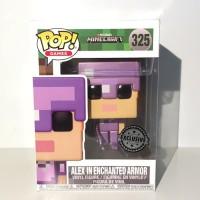Funko Pop Games-Minecraft-Alex In Enchanted Armor IE #325