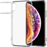 Armor Glass Case iPhone X - XS - Tempered Clear Original Kaca Bening