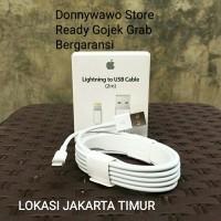 Ori Kabel USB Lightning 2 Meter iphone ipad ipod 5s 6s 7 8 X SE Plus