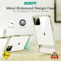 iPhone 11 Pro Max Case ESR Metal Kickstand Design Soft TPU Original