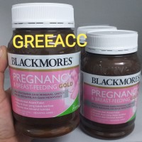 BLACKMORES Pregnancy & Breast-Feeding Gold 180 kapsul BPOM Original