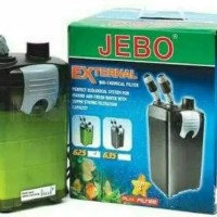 EXTERNAL BIO-CHEMICAL FILTER JEBO 625 CANISTER AQUARIUM AIR LAUT TAWAR