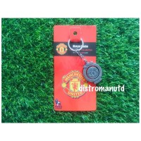 gantungan kunci plat logo manchester united jumbo