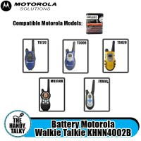 Battery Motorola Walkie Talkie KHNN4002B