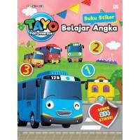 Tayo the Little Bus: Buku Stiker: Belajar Angka - Iconix / Jang Yeseo