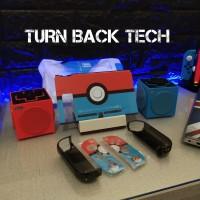 Fit Dock Pokeball Nintendo Switch Mika Case / Casing red blue - Uogo