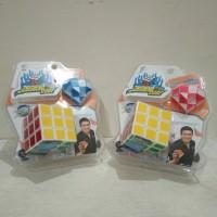 Mainan Rubick 2 in 1 Puzzle Cube Edukasi