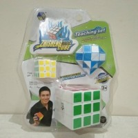 Mainan Rubick 3 in 1 Cube Series Puzzle