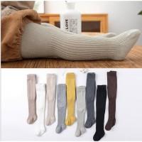 Legging anak / legging tutup kaki bayi unisex import polos bahan glitt