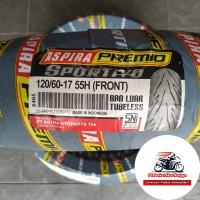 ASPIRA Premio Sportivo 120/60-17 BONUS Pentil, ban depan motor Sport