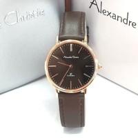 ALEXANDRE CHRISTIE AC 8625 AC8625 BLACK BROWN LEATHER STRAP ORIGINAL