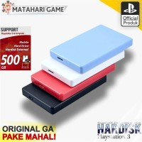 Hdd PS3 500GB - Hardisk ps3 External Support PS3 Full Game Terbaru
