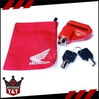 Kunci Gembok Pengaman Cakram Ori Honda