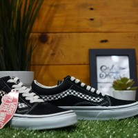Vans Oldskool Side stripe V Black White