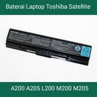 Baterai Laptop Toshiba Satellite A200 A205 L200 M200 M205 Series