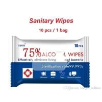 75% Alcohol Wipes Disinfection Wipes Sanitizing Antiseptic wipes