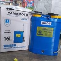 Tangki Semprot Disinfektan Sprayer Elektrik Sprayer Electric Yamamoto