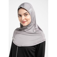 LH046 sport hijab alfa earphone td active abu misty