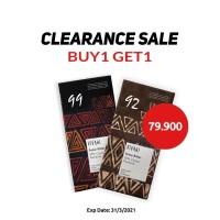 Paket Organic Dark 92 % & Dark 99% Cocoa Vivani 80 g (Buy 1 Get 1)
