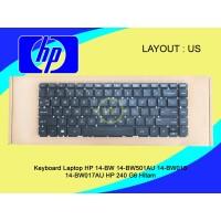Keyboard Laptop HP 14-BW 14-BS 14-BW501AU 14-BW015 14-BW017AU Hitam