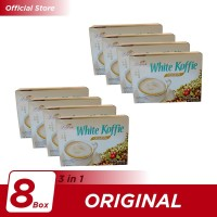 Kopi Luwak White Koffie Original Box 5x20gr - 8 Pcs