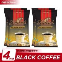Kopi Luwak Murni Black Coffee Bag 165gr - 4 Pcs