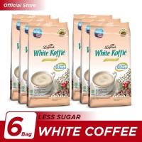 Kopi Luwak White Koffie Less Sugar Bag 10x20gr - 6 Pcs