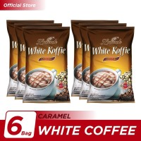Kopi Luwak White Koffie Caramel Bag 10x20gr - 6 Pcs