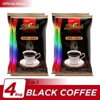 Kopi Luwak Plus Gula Black Coffee Bag 10x25gr - 4 Pcs