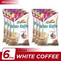 Kopi Luwak White Koffie 3 Rasa Bag 10x20gr - 6 Pcs