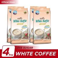 Kopi Luwak White Koffie Less Sugar Bag 10x20gr - 4 Pcs
