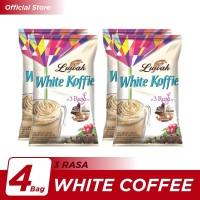 Kopi Luwak White Koffie 3 Rasa Bag 10x20gr - 4 Pcs
